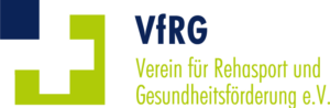 Logo VfRG: Verein für Rehasport und Gesundheitsförderung e.V.